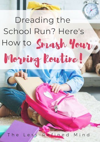 If you're dreading the school run and being late leaving the house, these back to school hacks will help you to be organised. #schoolhacks #organisation #organization #organizationhacks #organizationtips #organizationideas #morningroutine #organizedlife