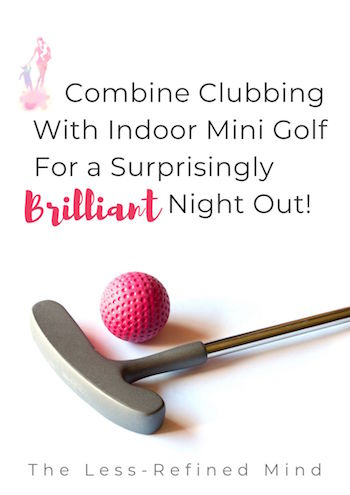 Looking for a fun activity for all the family that's a little bit different? Also a great date night idea, or a brilliant night out with friends. Read my indoor mini golf review to find out all you need to know! #familyfun #datenight #minigolf #indoorminigolf #familyactivities