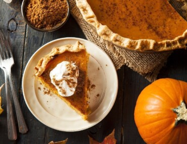 Pumpkin Pie Flat Lay