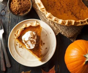 Pumpkin Pie Flat Lay