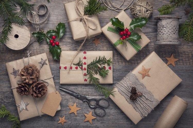 Zero Waste Christmas Wrap