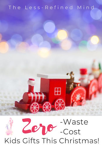 This simple idea can make kids Christmas gifts completely free, whilst also being environmentally-friendly! #sustainability #zerowaste #zerowasteliving #zerowastelifestyle #zerowastechristmas #zerowastegifts #ecofriendly
