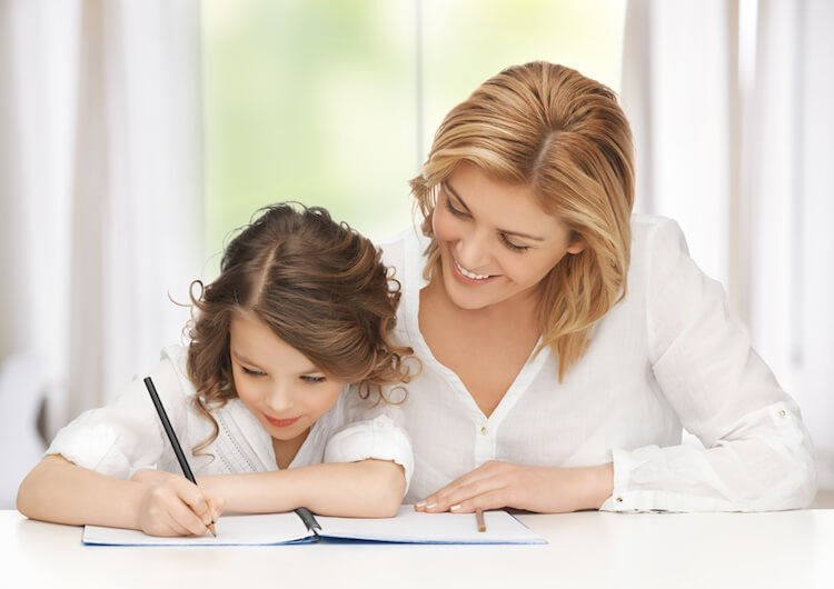Characteristics of a Resilient Child Include Empathy and an INterest in Learning, Which Can Be Cultivated Via Journalling, As Seen in This Photo.