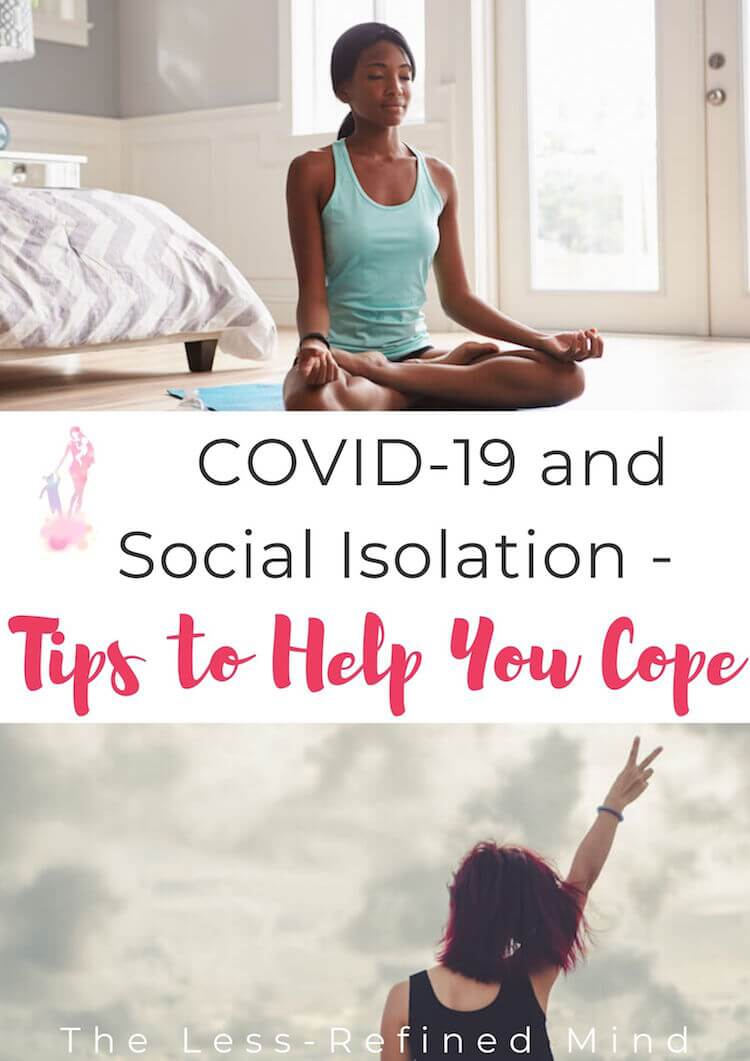 Tips to help families and individuals cope with social isolation should it become necessary. #covid19 #coronavirus #socialisolation #mentalhealth #wellbeing #selfcare