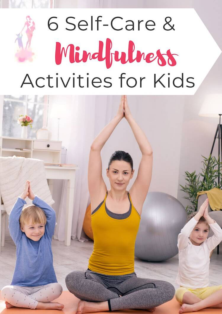 6 mindfulness activities for kids including yoga, meditation, and more, to promote emotional wellbeing and positivity. #mentalhealth #mentalwellbeing #kidsmentalhealth #kidsmentalwellbeing #kidsjournaling #journalingforkids