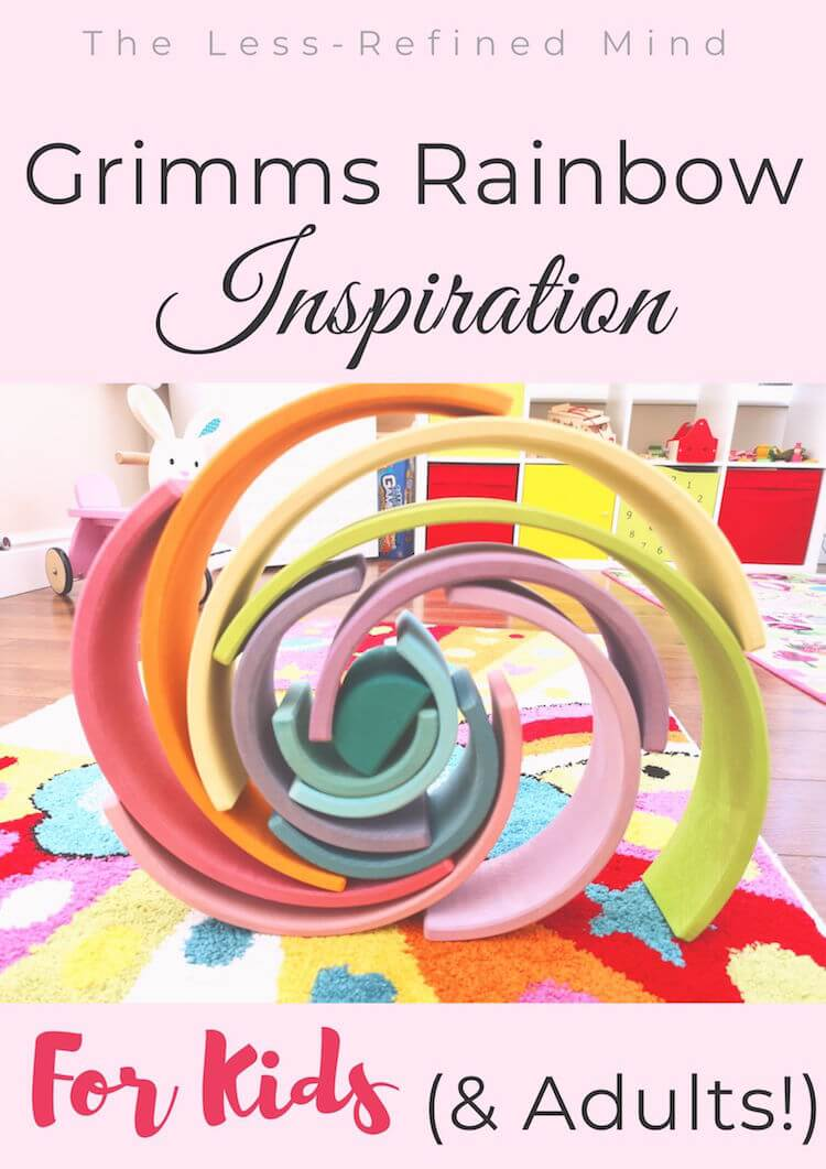 Grimms rainbow ideas and inspiration. #grimmsrainbow #grimmsrainbowideas #grimmsrainbowinspiration #grimmsrainbowinspo #grimmsrainbowstructures #grimmsrainbowbuilds #grimmsrainbowsculptures #grimmsrainbowchallenge #grimmsrainbowchallenges