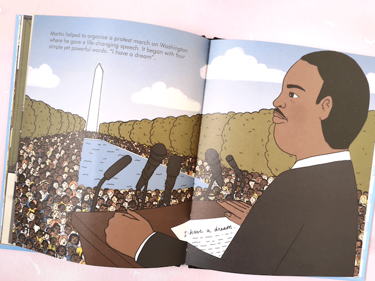 Martin Luther King Kids Book