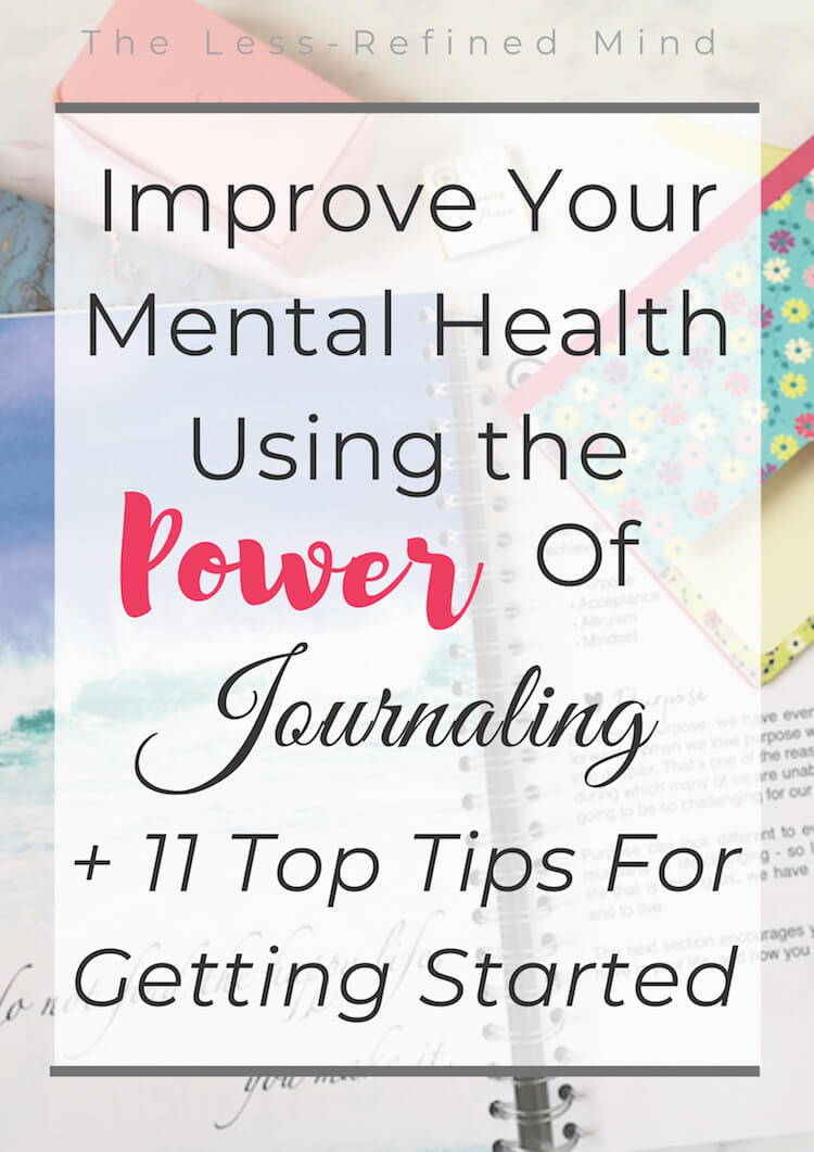 Learn how to journal with these top tips - plus how journaling is great for your mental health, and the reasons it's so beneficial. #wellbeing #mentalhealth #journaling #journalingformentalhealth #mindfulness #positivity