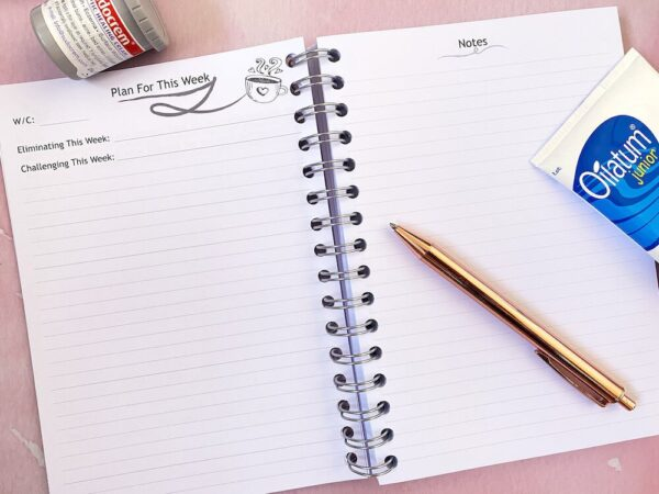 Breastfeeding Food Allergy Diary - plan for this week.