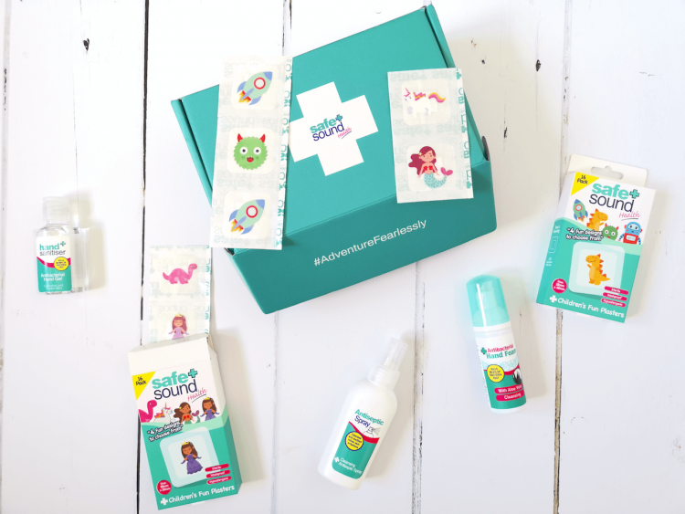 Plasters For Kids - Safe and Sound Range
