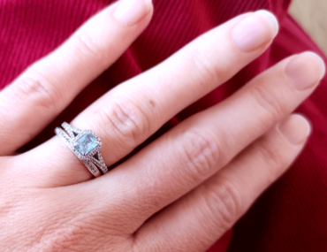 Art Deco Engagement Ring - New or Antique Jewellery?