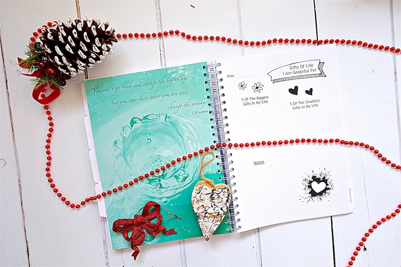 Mindfulness Gifts - My Positivity Project Positivity and Wellbeing Journal