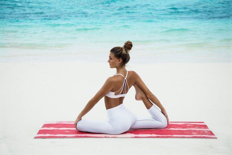 One Leg Pigeon Yoga Pose