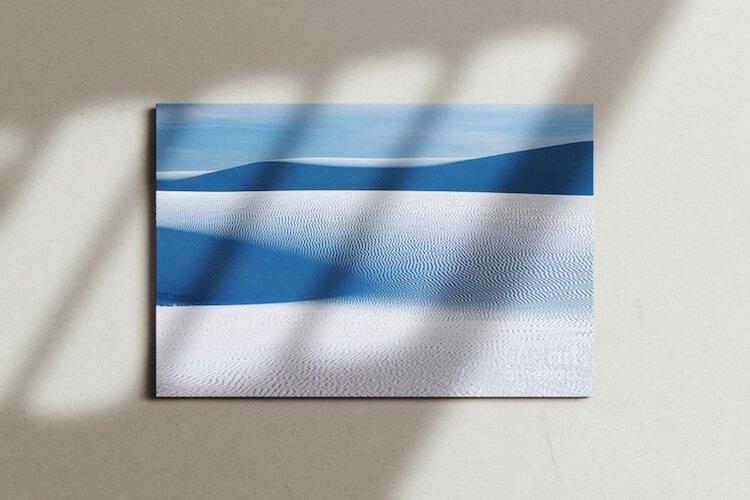 Blue Scenery Canvas Print