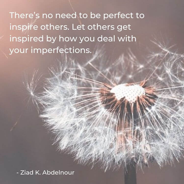 Quotes about self worth | Imperfections Quote