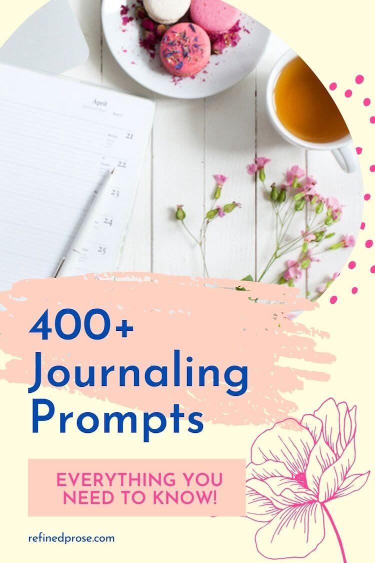 Journal prompts pin.