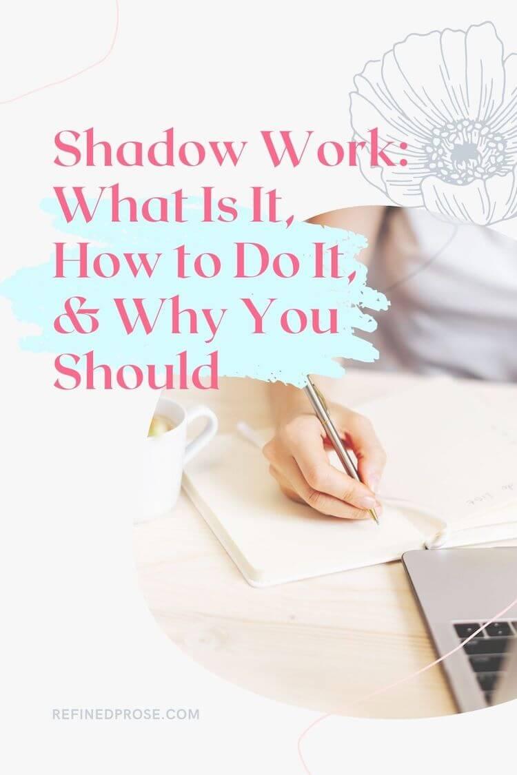 Shadow work pin.