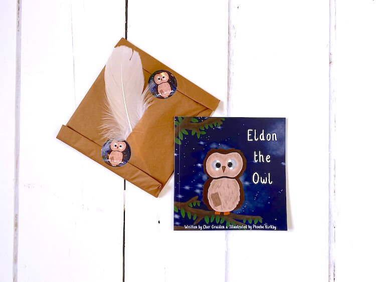 Eldon the Owl book