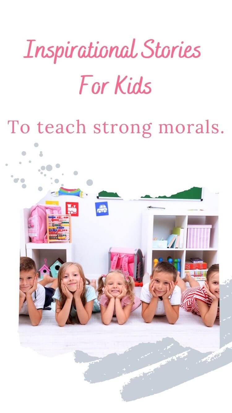 Moral stories pin