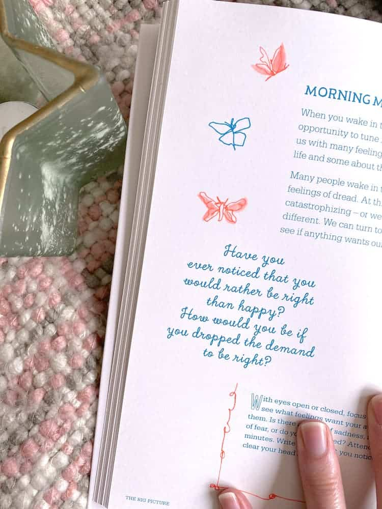 A guided happiness journal.