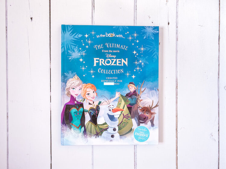 Frozen book cover.