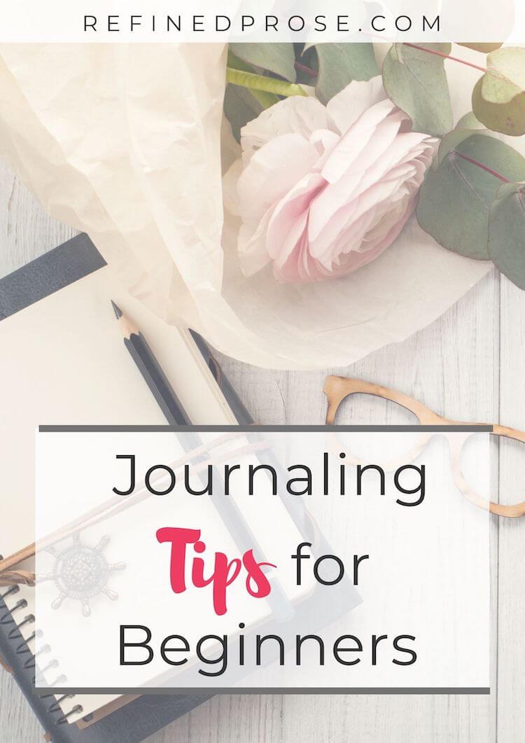 Journaling tips pin