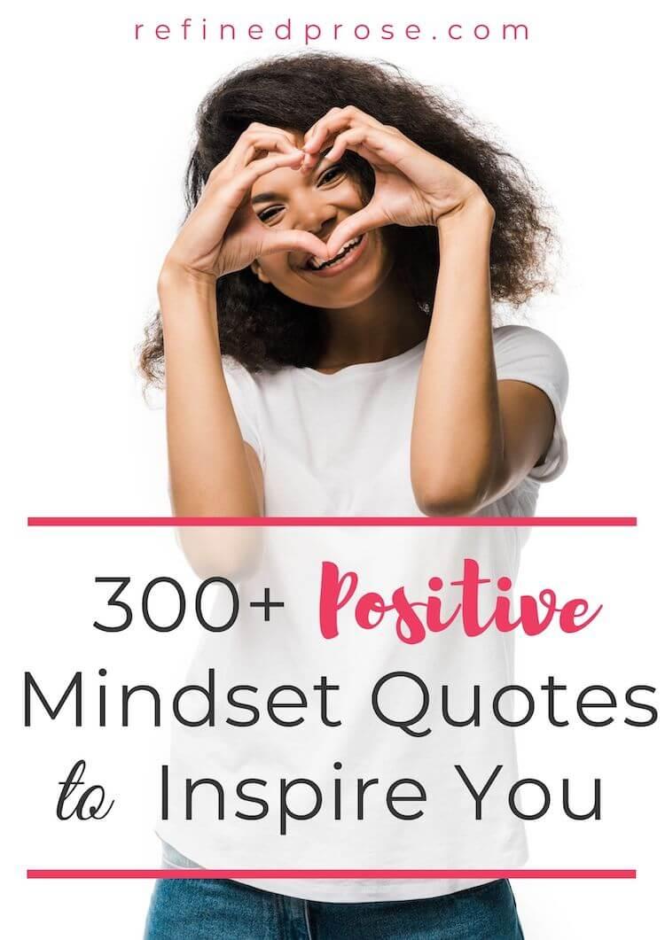 Positive mindset pin