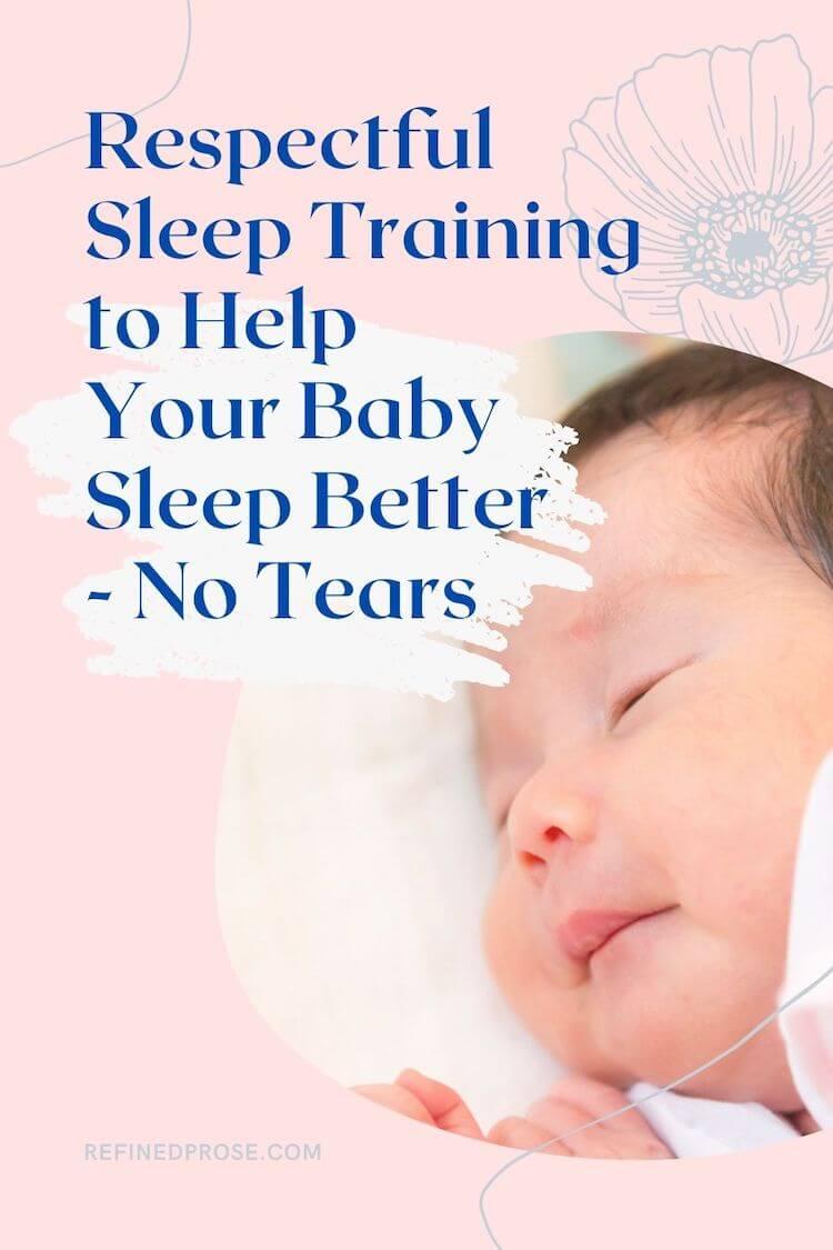 Breastfeeding and sleep training pin.