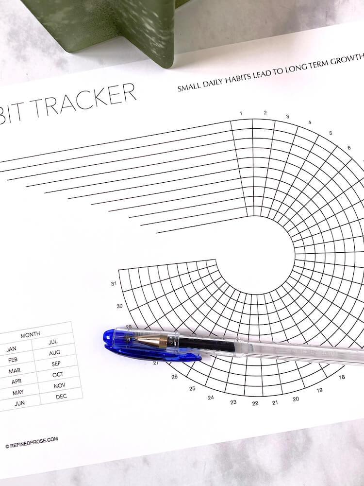 Mandala tracker.