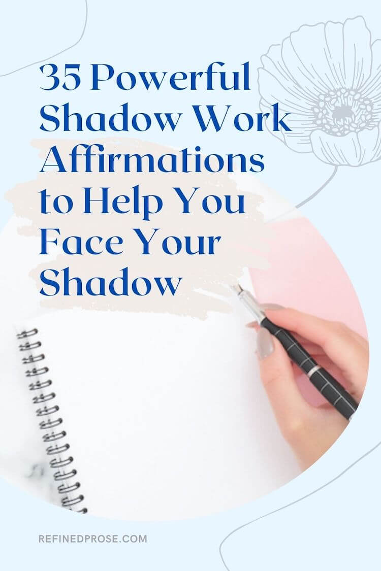 Shadow Work Affirmations Pin