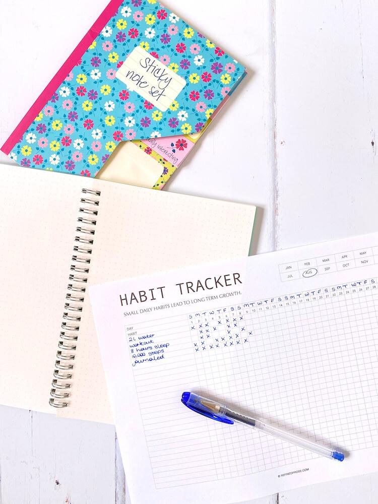 Simple habit tracker.