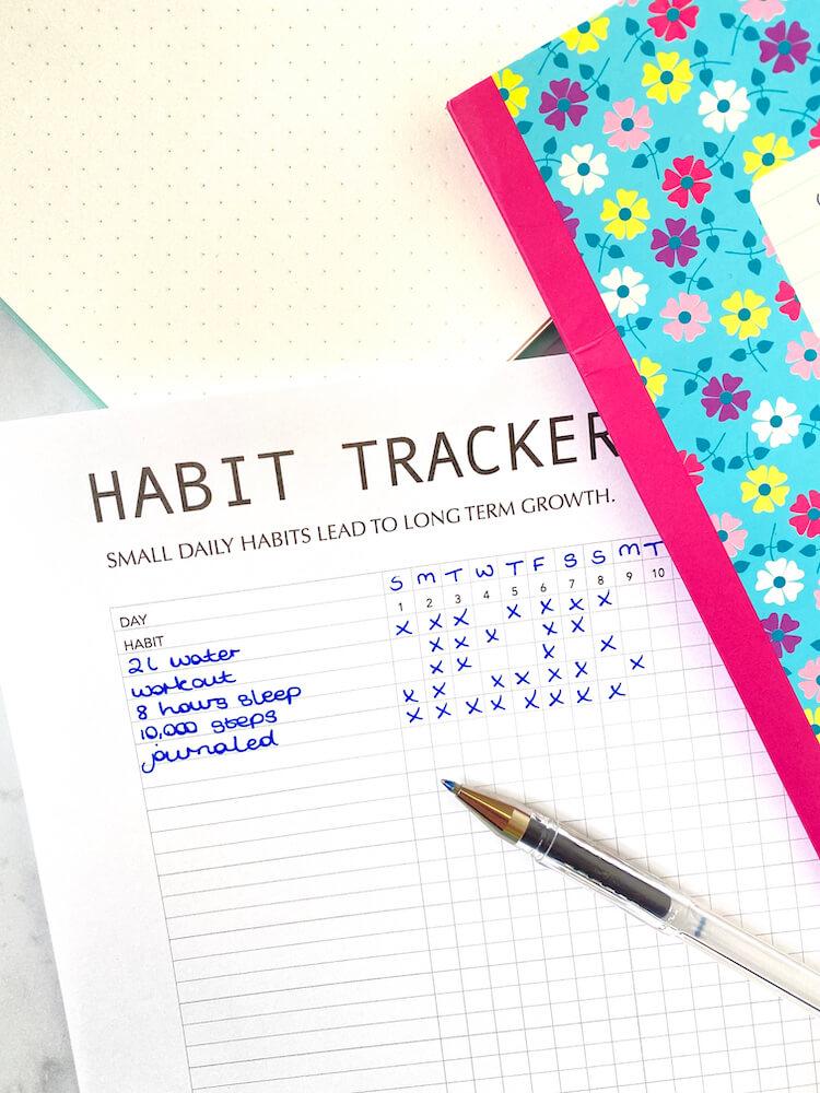 Simple tracker.